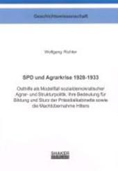 SPD und Agrarkrise 1928-1933