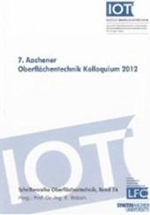 7. Aachener Oberflächentechnik Kolloquium