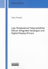 Low Temperature Polycrystalline Silicon Integrated Analogue and Digital Display Drivers