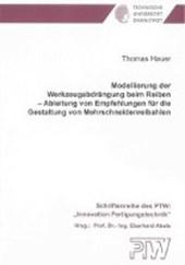 Modellierung der Werkzeugabdrängung beim Reiben - Ableitung von Empfehlungen für die Gestaltung von Mehrschneidenreibahlen