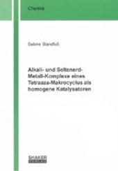 Alkali- und Seltenerd-Metall-Komplexe eines Tetraaza-Makrocyclus als homogene Katalysatoren