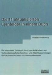 Die 11 aktualisierten Lernfelder in einem Buch