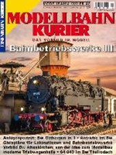 Modellbahn-Kurier 48 Bahnbetriebswerke