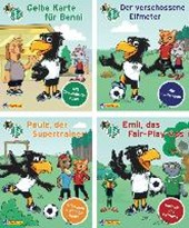 Nelson Mini-Bücher: 4er DFB-Maskottchen Paule 1-4