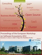 Proceedings of European Workshop on Software Ecosystems