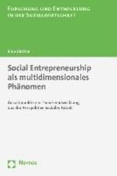 Social Entrepreneurship als multidimensionales Phänomen
