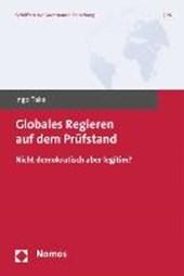 Globales Regieren auf dem Prüfstand