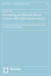 Promoting an Effective Rescue Culture with Debt-Equity-Swaps?