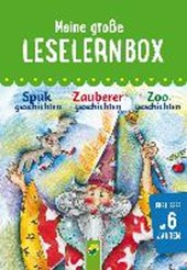 Meine große Leselernbox - Zoogeschichten, Zauberergeschichten, Spukgeschichten