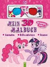 Mein 3D-Malbuch - My Little Pony