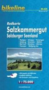 Bikeline Radkarte Österreich Salzkammergut 1 : 75.