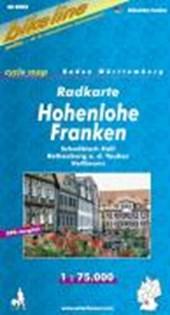 Bikeline Radkarte Deutschland Hohenlohe - Franken 1 : 75 000
