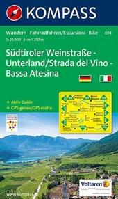 Südtiroler Weinstraße - Unterland / Strada del Vino - Bassa Atesina 1 :