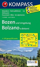 Bozen und Umgebung - Bolzano e dintorni 1:25000