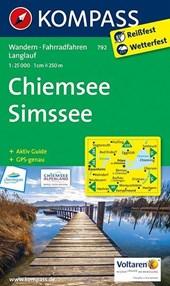 Kompass WK792 Chiemsee, Simssee