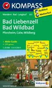 Kompass WK873 Bad Liebenzell, Bad Wildbad