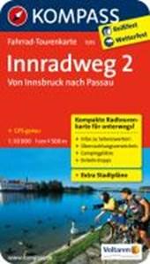 Kompass FTK7015  Innradweg 2, Von Innsbruck nach Passau