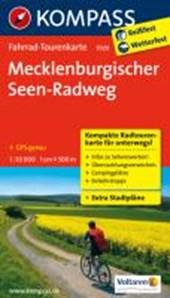 Kompass FTK7020 Mecklenburgischer Seen Radweg