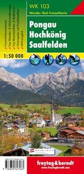 Pongau, Hochkönig, Saalfelden 1 : 50 000. WK