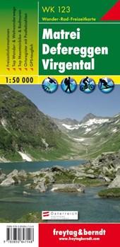 Matrei, Defereggen, Virgental 1 : 50 000. WK