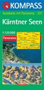 Kärntner Seen - I Laghi della Carinzia 1:125000