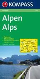 Alpen - Alps - Alpi - Alpes 1:500