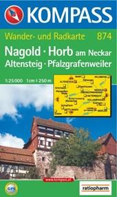 Kompass WK874 Nagold, Horb