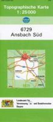 Ansbach Süd 1 : 25 000