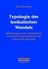 Typologie des lexikalischen Wandels