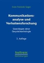 Kommunikationsanalyse und Verhaltensforschung
