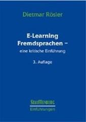 E-Learning Fremdsprachen