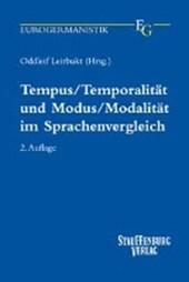 Tempus / Temporalität und Modus / Modalität im Sprachenvergleich