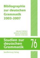 Bibliographie zur deutschen Grammatik 2003-2007