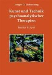 Kunst und Technik psychoanalytischer Therapien