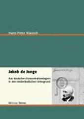 Jakob de Jonge