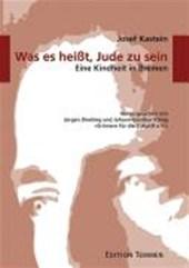 Was es heißt, Jude zu sein