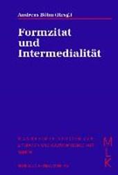 Formzitat und Intermedialität