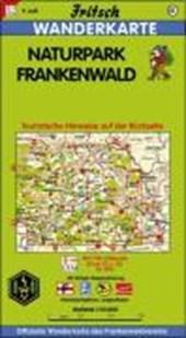 Naturpark Frankenwald 1 : 50 000. Fritsch Wanderkarte