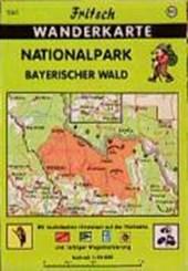 Nationalpark Bayerischer Wald 1 : 35 000. Fritsch Wanderkarte