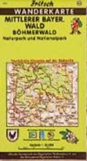 Mittlerer Bayerischer Wald / Böhmerwald 1 : 50 000. Fritsch Wanderkarte