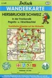 Hersbrucker Schweiz in der Frankenalb 1 : 35 000. Fritsch Wanderkarte