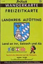 Landkreis Altötting 1 : 50 000. Fritsch Wanderkarte