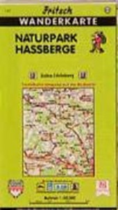 Naturpark Haßberge 1 : 50 000. Fritsch Wanderkarte