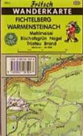 Fichtelberg. Warmensteinach 1 : 35 000. Fritsch Wanderkarte
