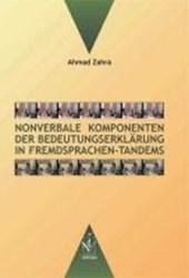 Nonverbale Komponenten der Bedeutungserklärung in Fremdpsrachen-Tandems