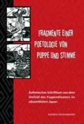 Fragmente einer Poetologie von Puppe und Stimme