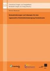 Herausforderungen und Lösungen für eine regenerative Elektrizitätsversorgung Deutschlands
