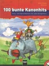 100 bunte Kanonhits. Paket  (Buch und Audio-CDs)