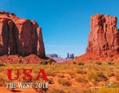 USA The West 2018 Großformat-Kalender 58 x 45,5 cm