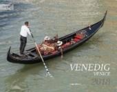 Venedig 2018 Großformat-Kalender 58 x 45,5 cm